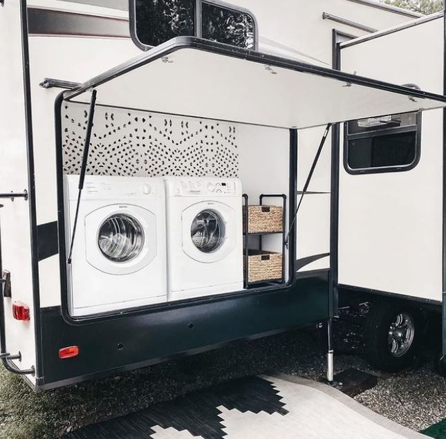 Are There Any Travel Trailers With Washer And Dryer