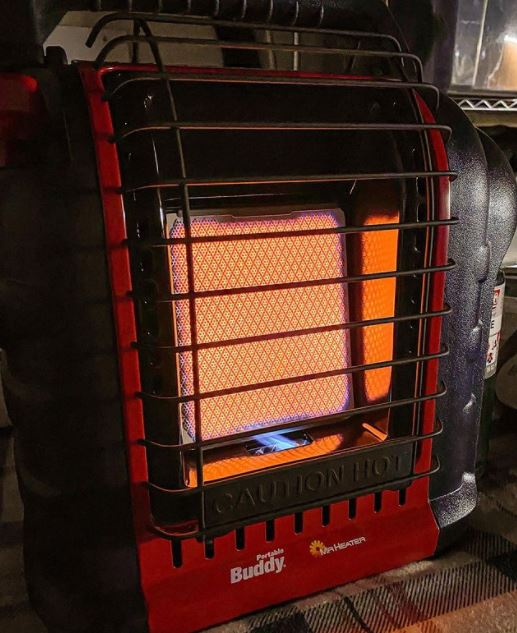 Can Mr Buddy Heater In Tent