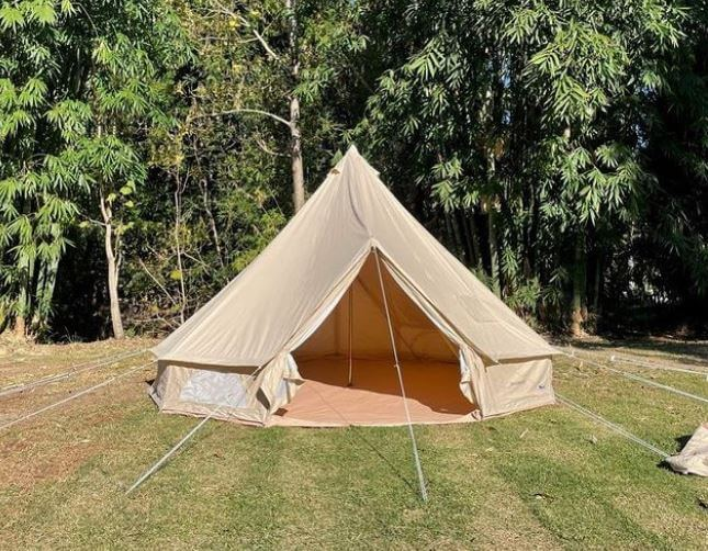 Can You Paint a Canvas Tent