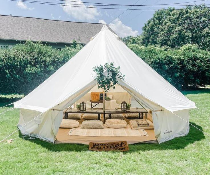 Can You Spray Paint Canvas Tent