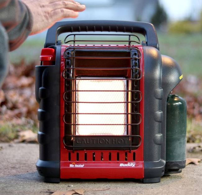 Can You Use a Mr Buddy Heater In a Tent