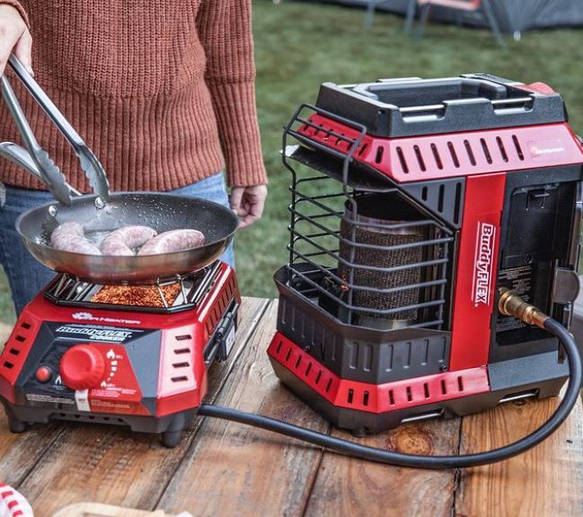 Can a Buddy Heater Be Used In a Tent