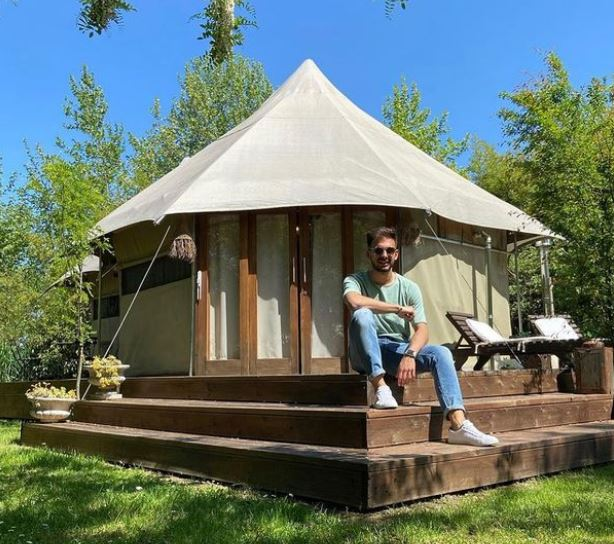 Canvas Tent With Stove Jack