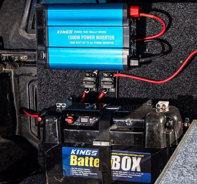 Portable Power Inverter For Camping