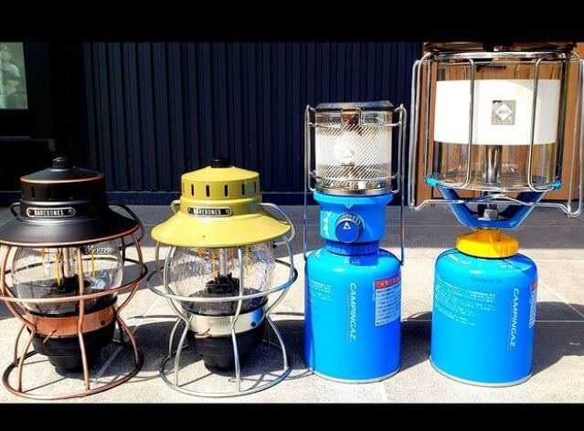 Storing Camping Gas Canisters