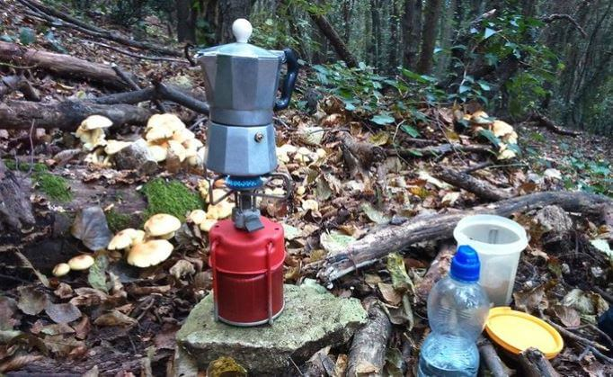 Storing Camping Gas Cylinders