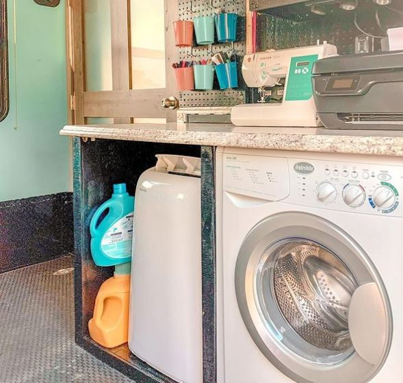 Washing Machine And Dryer For Campers
