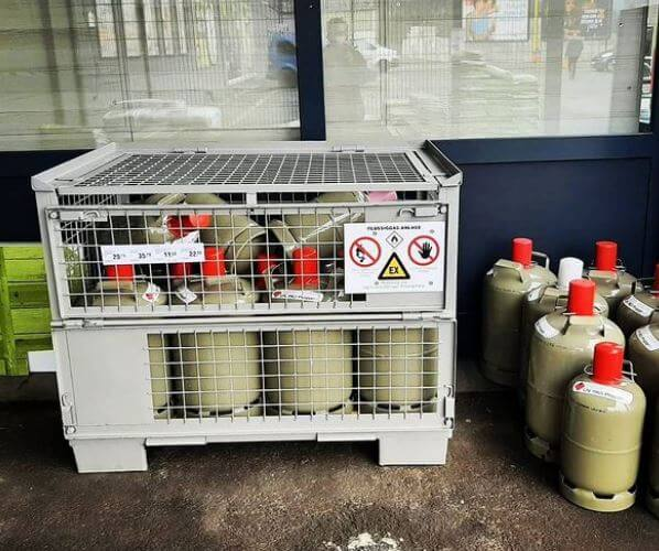 Where To Store Gas Canisters